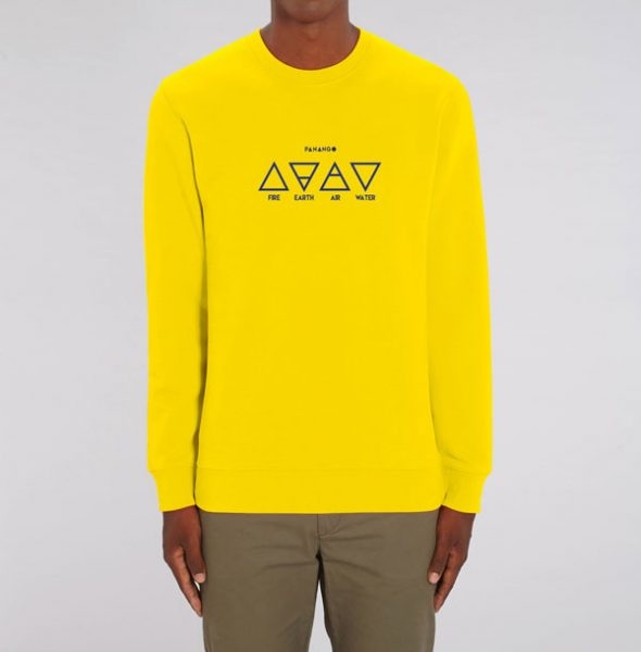 Sudadera-Elements-lemon-front