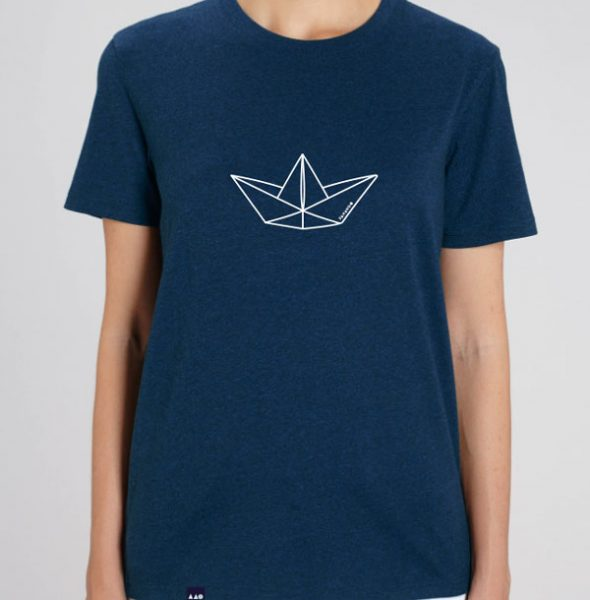 Camiseta-Boat-Blue-front-chica