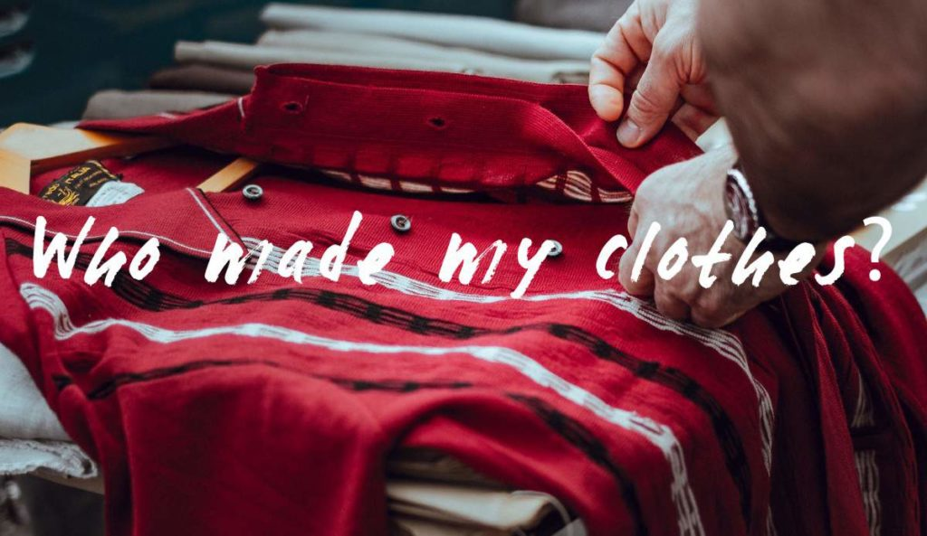 comercio justo who made my clothes